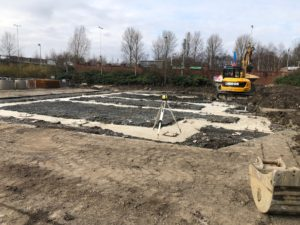Costa foundations poured